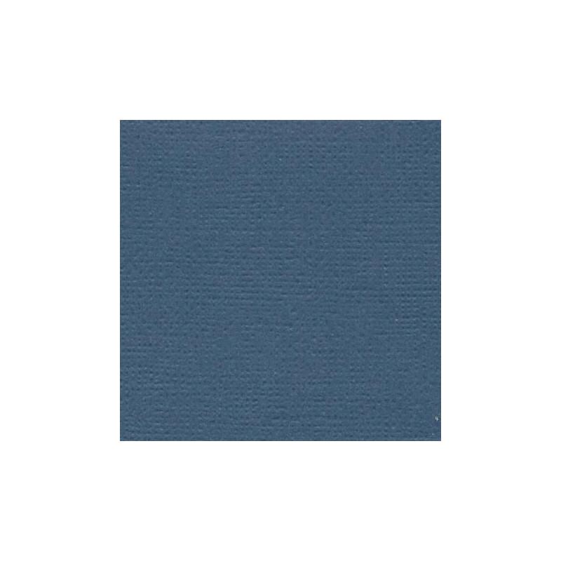 Papier cardstock uni 30 x 30 Bleu marine