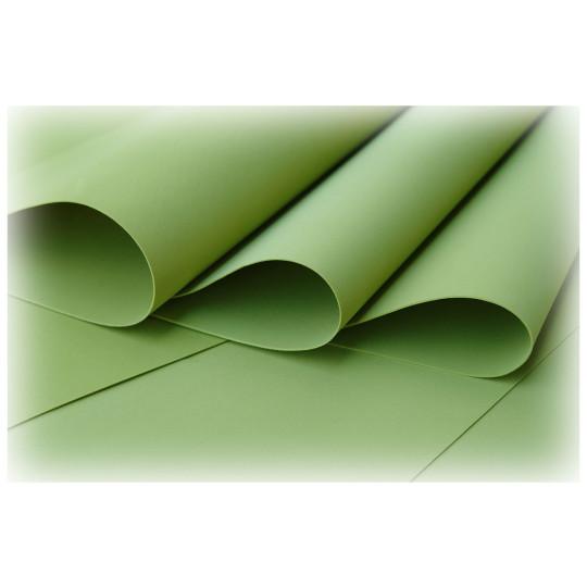 Feuille de mousse foamiran 29 cm x 34 cm Olive