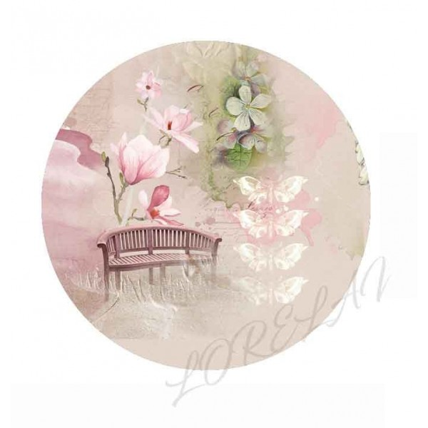 Badge Pause tendresse collection Bloom LORELAÏ DESIGN