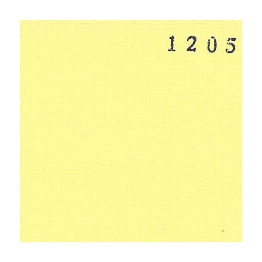 Papier cardstock uni 30 x 30 Jaune Clair