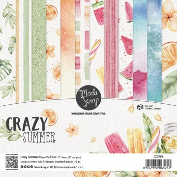 Set 12 papiers scrapbooking...