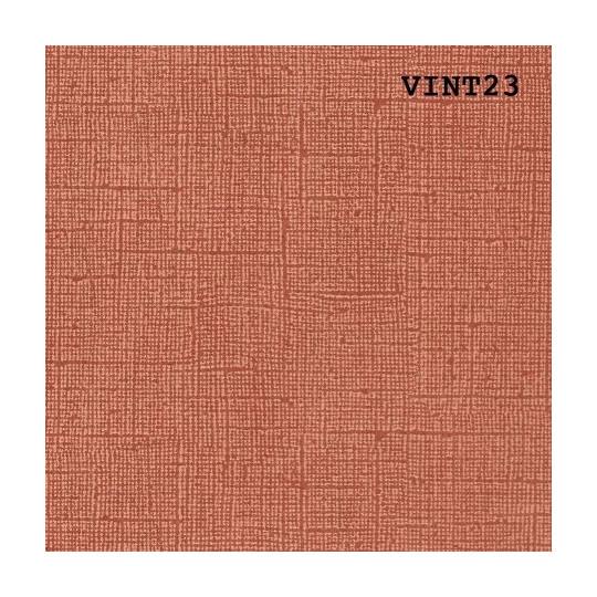 Papier cardstock uni 30 x 30 aspect vintage Rouille