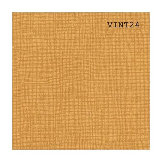 Papier cardstock uni 30 x 30 aspect vintage Jaune Curry