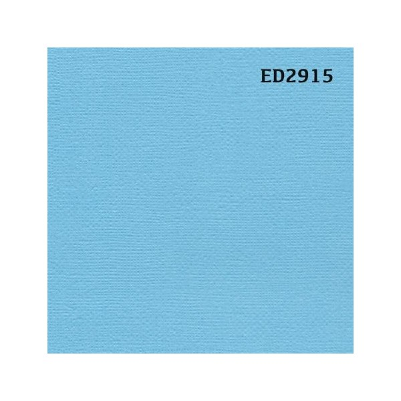 Papier cardstock uni 30 x 30 Bleu Provence