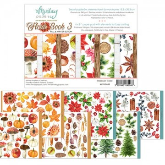 Bloc Florabook Fall & Winter Edition MINTAY BY KAROLA