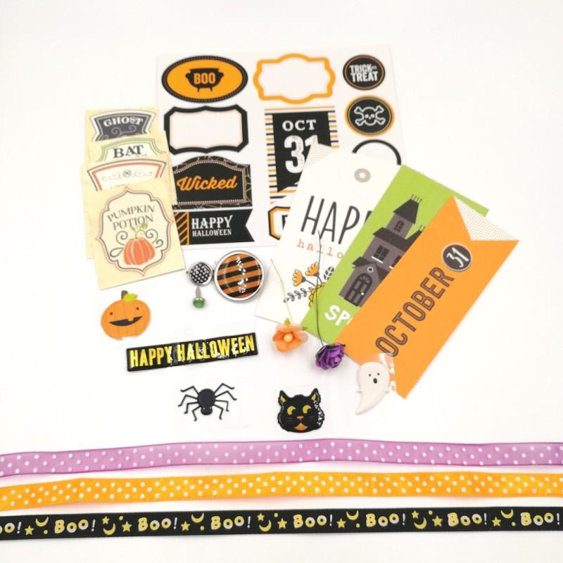 Kit embellissements Halloween SCRAPMOUSET
