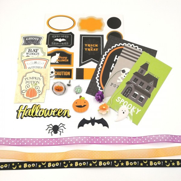 Kit embellissements Halloween SCRAPMOUSET