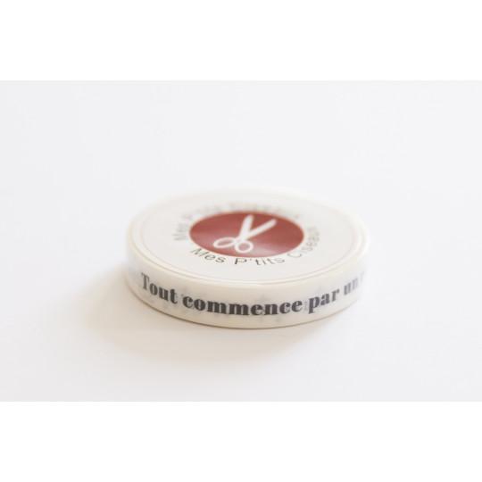 Rouleau masking-tape Mots Doux collection Pôle Nord MES P'TITS CISEAUX