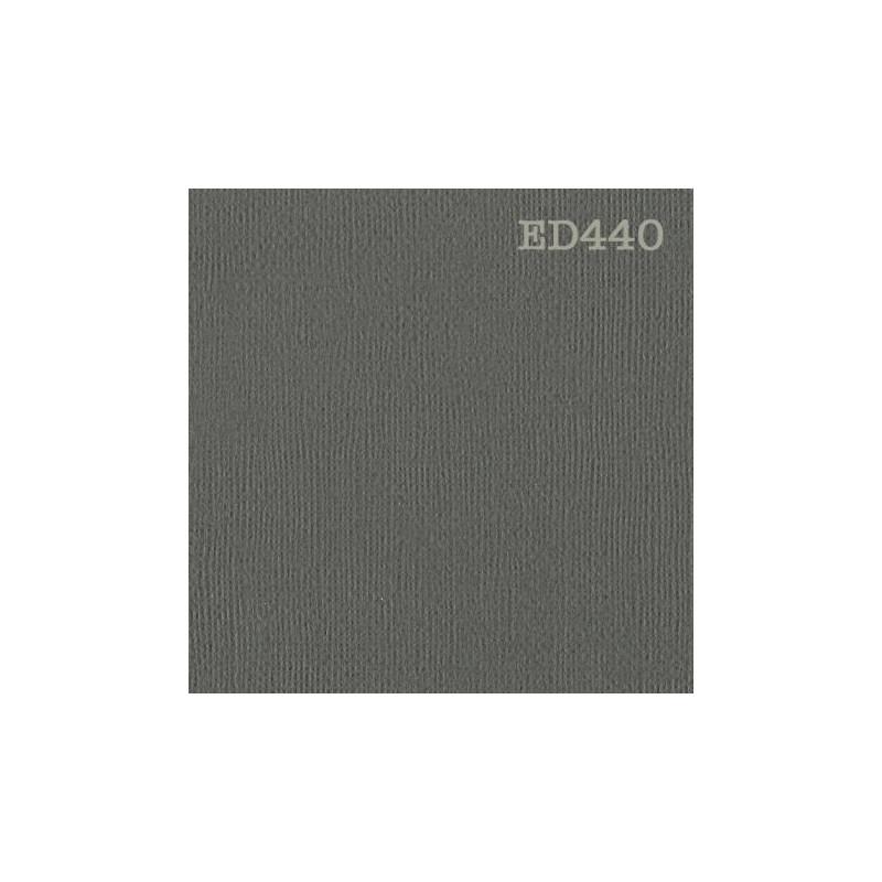Papier cardstock uni texturé 30 x 30 Gris graphite