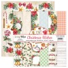 Bloc 12 papiers scrapbooking 30 x 30 collection Christmas Wishes SCRAPBOYS