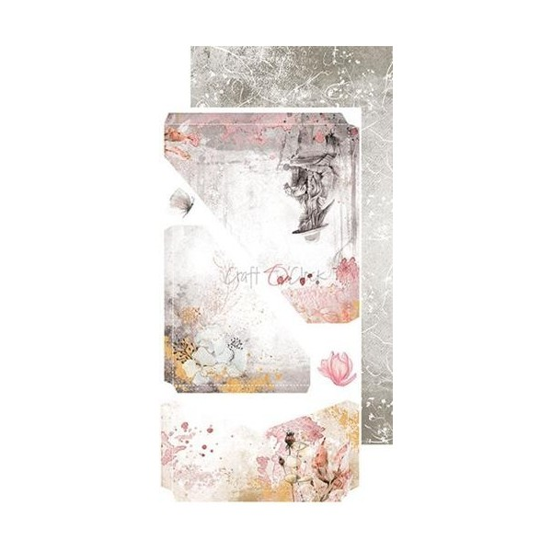 Set papiers scrapbooking Junk Journal extras set collection Time of Reflection CRAFT O'CLOCK