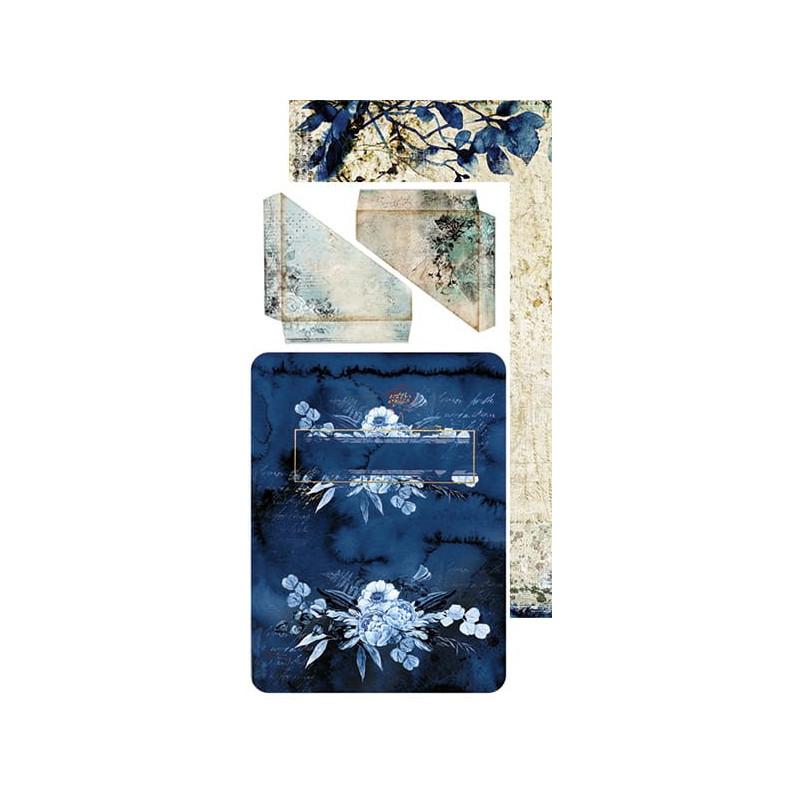 Set papiers scrapbooking Junk Journal extras set collection Hours of Longing CRAFT O'CLOCK