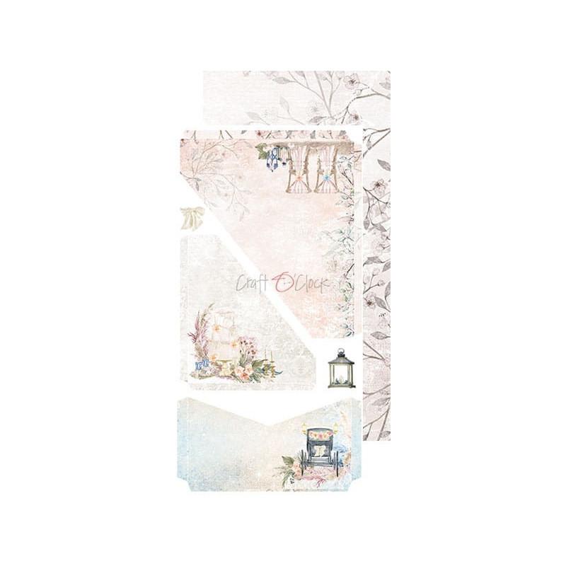 Set papiers scrapbooking Junk Journal extras set collection Wedding Dream CRAFT O'CLOCK