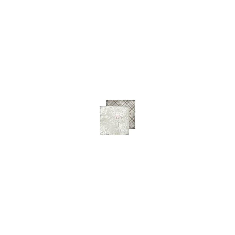Set 18 papiers scrapbooking 20 x 20 collection Gray Mood CRAFT O'CLOCK