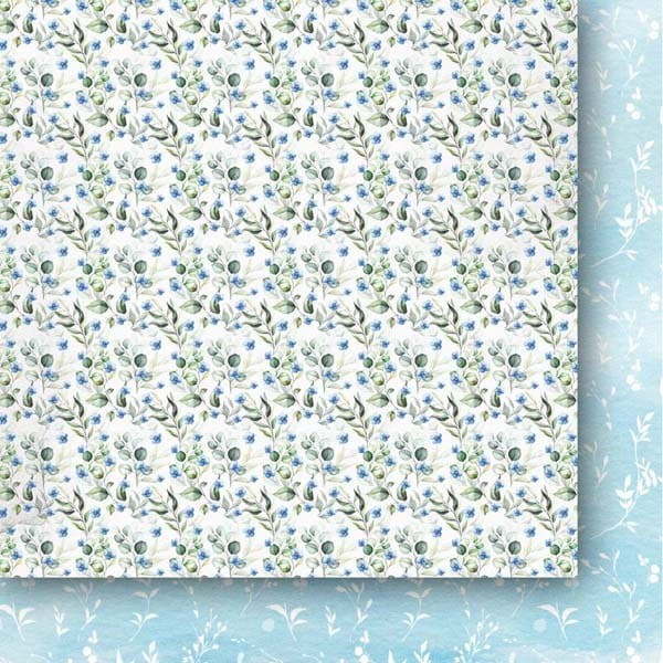 Set 24 papiers scrapbooking 15 x 15 collection A walk in the clouds PAPER HEAVEN