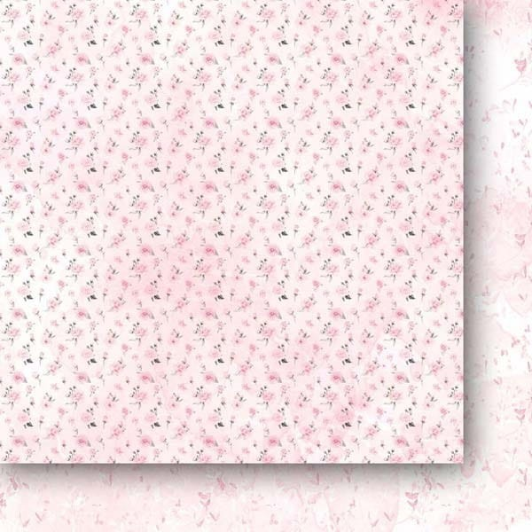 Set 24 papiers scrapbooking 15 x 15 collection The rose and the ring PAPER HEAVEN