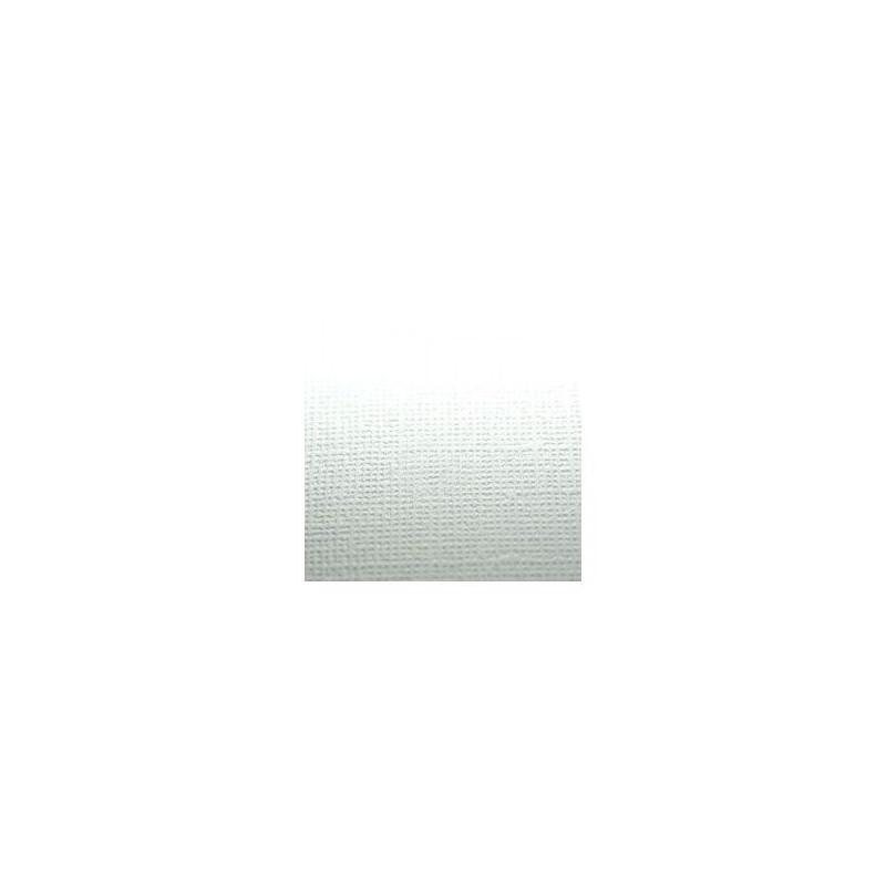 Papier cardstock uni texturé 30 x 30 Blanc