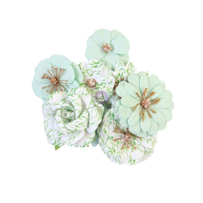 Fleurs Watercolor Floral Minty Water PRIMA MARKETING