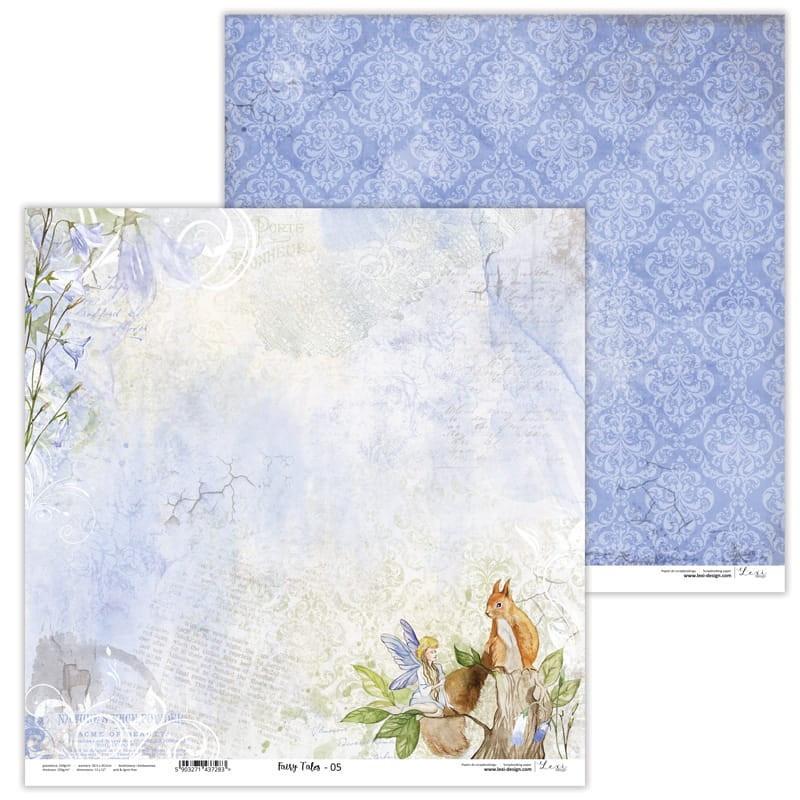 Set de 11 papiers scrapbooking 30 x 30 collection Fairy Tales LEXI DESIGN