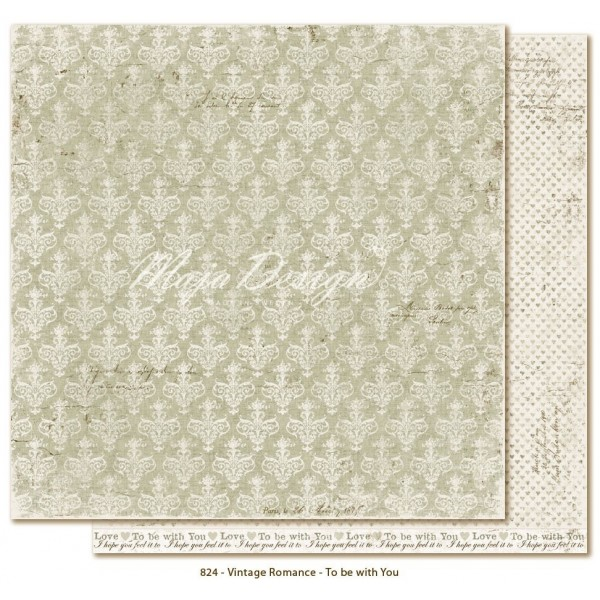 "Papier ""To be with you"" collection ""Vintage Romance"" de Maja Design"