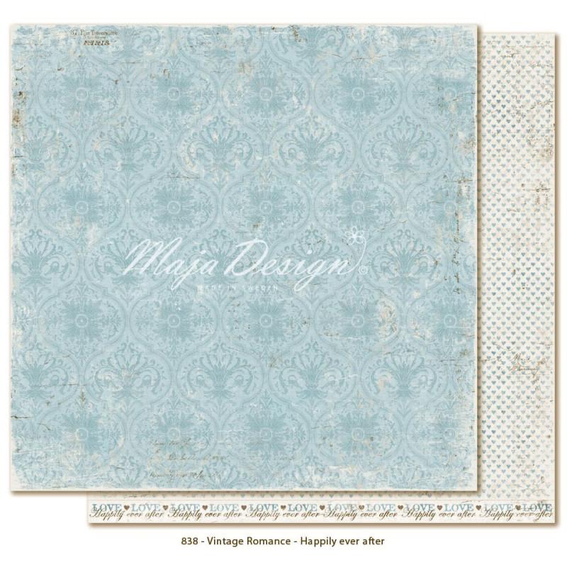 """Papier """"Happily ever after"""" collection """"Vintage Romance"""" de Maja Design"""