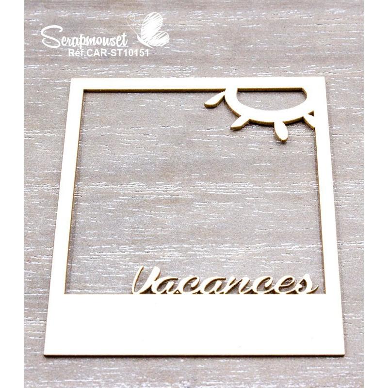"Chipboards ""Vacances Mer & Montagne"" de Scrapmouset"