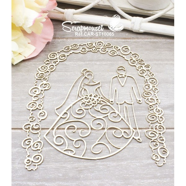 "Chipboards ""Wedding Day"" de Scrapmouset"