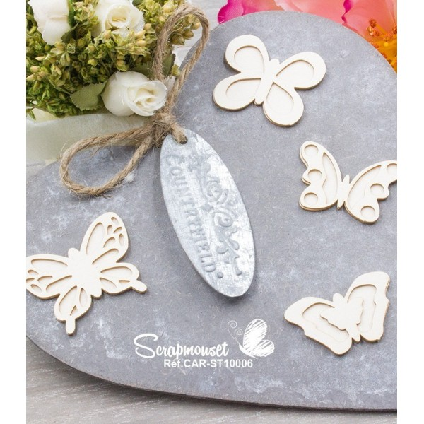 """Chipboards """"Petits papillons"""""""