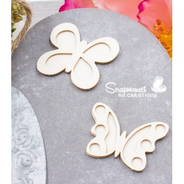 "Chipboards ""Petits papillons"""