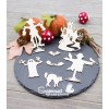 "Chipboards ""Epouvantails Halloween"" de Scrapmouset"