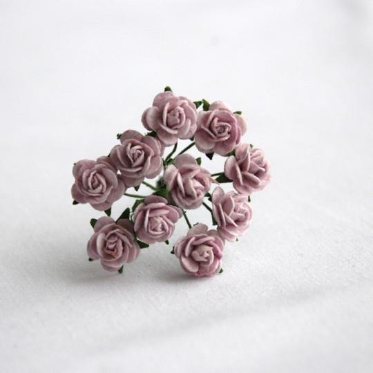 Roses 1 cm - Lilas
