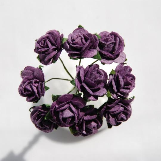 Roses 1.5 cm - Violet