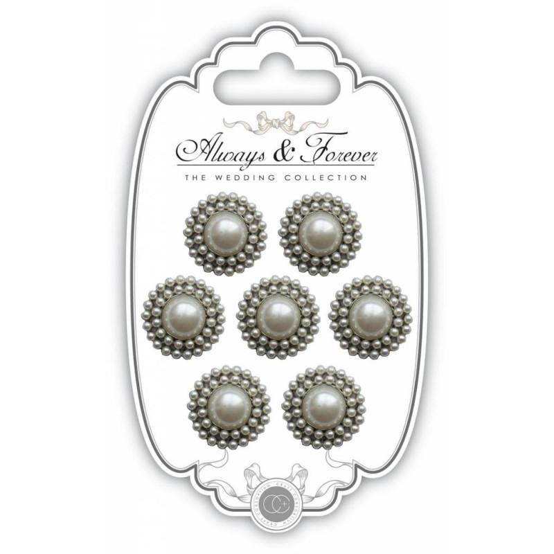 Ornements vintage perlés de Craft Consortium