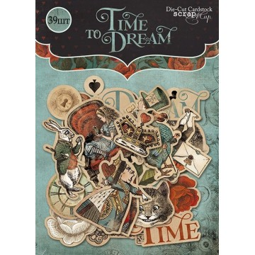 "Die-cuts cardstock ""Time to Dream"""