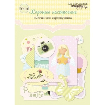 "Die-cuts cardstock ""Sweet girls"""