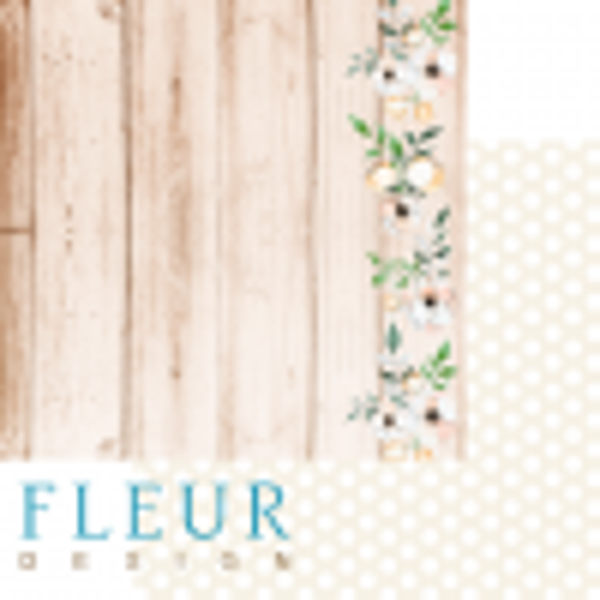 """Set 6 papiers 30 x 30 collection """"Say """"Yes""""!"""" de Fleur Design"""