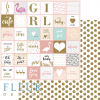 "Bloc 15 x 15 collection ""Lovely Girl"" de Fleur Design"