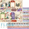 "Set 12 papiers 30 x 30 collection ""In Wonderland"" de Fleur Design"