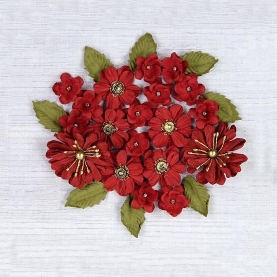 """Fleurs """"Renae Cherry"""" de Little Birdie"""