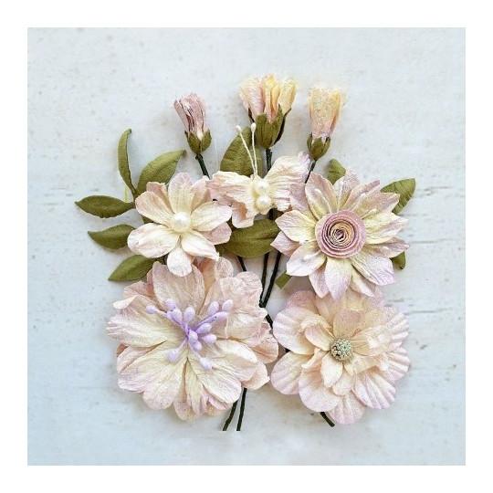 """Fleurs """"Blanche Orchid"""" de Little Birdie"""