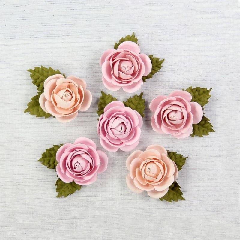 "Fleurs ""Sharon Blush"" de Little Birdie"