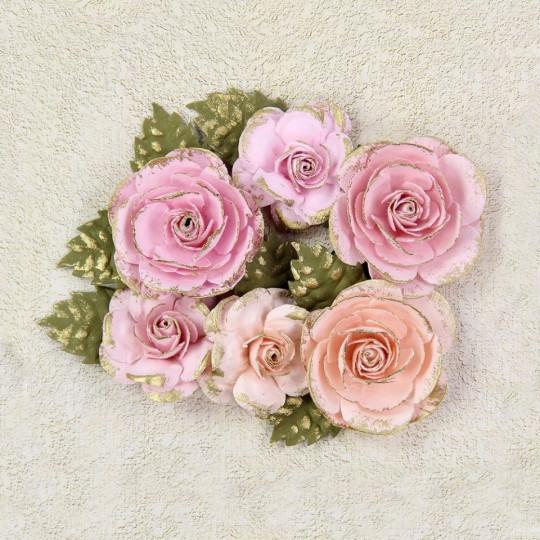 "Fleurs ""Victorian Eros Blush"" de Little Birdie"