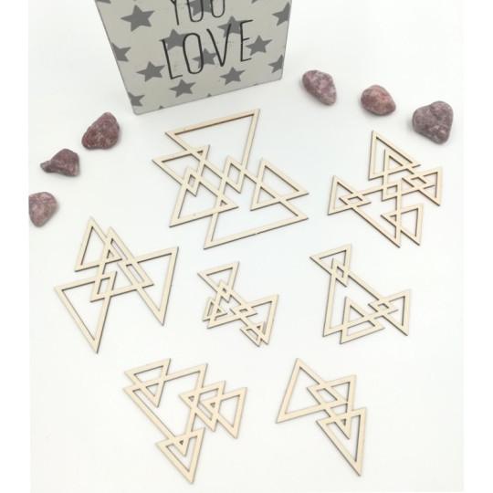 Petits fonds triangles entrelacés de Scrapmouset