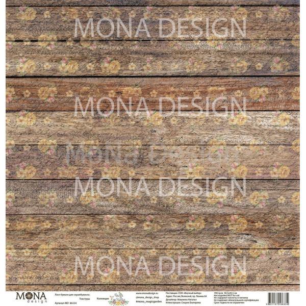 "Set 10 papiers collection ""Magic Garden"" de Mona Design"