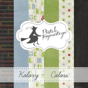 "Set 3 papiers collection ""Kolory Colors"" de Piatek"