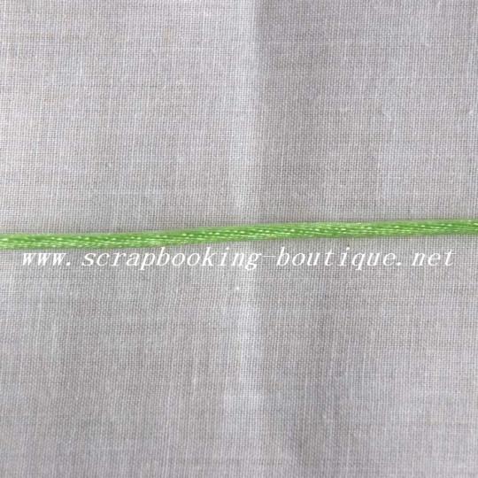 Cordelette vert amande