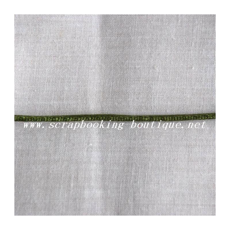Cordelette vert olive