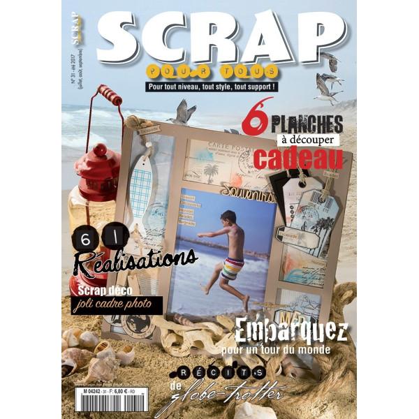 Magazine Scrap pour Tous n°31 - été 2017