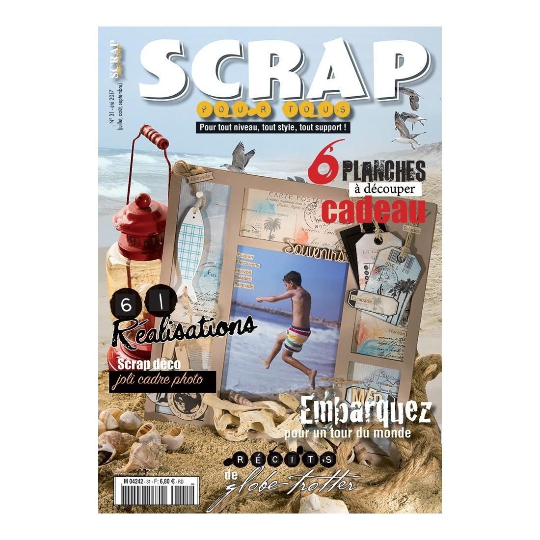 Magazine scrap pour tous n 31 t 2017 scrapbooking boutique - Date de solde ete 2017 ...