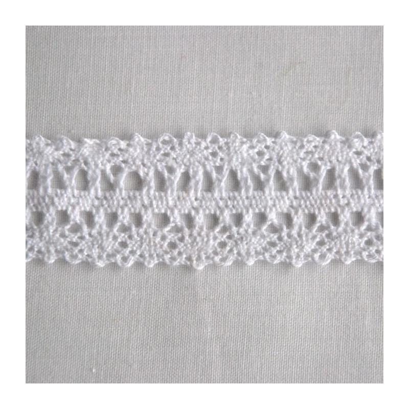 Dentelle coton 2.5 cm